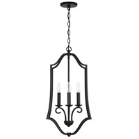 Capital Lighting 539541MB Cameron 4 Light 18 inch Matte Black Foyer Ceiling Light
