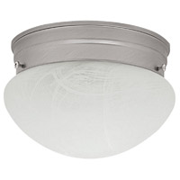 Capital Lighting Signature 2 Light Flush Mount in Matte Nickel 5678MN