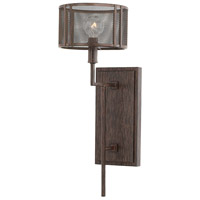 Bennett 1 Light 7 inch Russet Sconce Wall Light in Stay-Straight