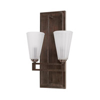 Avalon 2 Light 11 inch Russet Sconce Wall Light