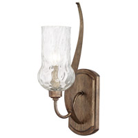 Rowan 1 Light 4 inch Rustic Sconce Wall Light