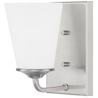 HomePlace 1 Light 5 inch Brushed Nickel Sconce Wall Light