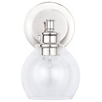 Capital Lighting 621111PN-426 Mid Century 1 Light 6 inch Polished Nickel Wall Sconce Wall Light