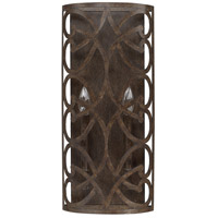 Renaissance 2 Light 9 inch Renaissance Brown Sconce Wall Light
