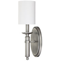 Capital Lighting Covington 1 Light Sconce in Antique Nickel 6301AN-489
