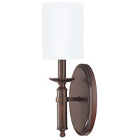 Capital Lighting Covington 1 Light Sconce in Burnished Bronze 6301BB-489