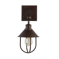 Capital Lighting 630811MI Pawley 1 Light 7 inch Mineral Brown Sconce Wall Light