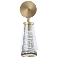 Capital Lighting 632311AD Abbott 1 Light 5 inch Aged Brass Sconce Wall Light