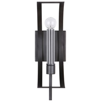 Capital Lighting 633711MG Lathem 1 Light 6 inch Midnight Grey Sconce Wall Light