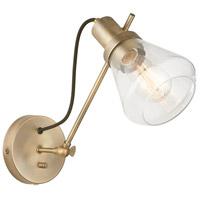 Capital Lighting 634812AD-480 Signature 1 Light 6 inch Aged Brass Sconce Wall Light