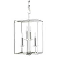 Morgan 4 Light 12 inch Polished Nickel Foyer Ceiling Light