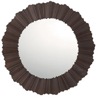Signature 30 X 30 inch Burnished Bronze Wall Mirror Home Decor