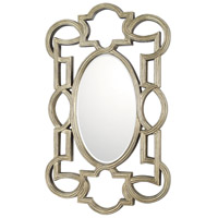 Signature 42 X 26 inch Antique Silver Wall Mirror Home Decor