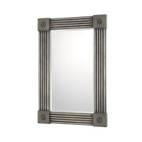 Signature 36 X 25 inch Distressed Silver Mirror Home Decor