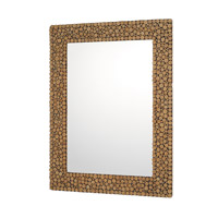 Signature 48 X 36 inch Natural Wood Mirror Home Decor