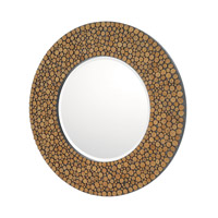 Signature 36 X 36 inch Natural Wood Mirror Home Decor