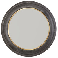 Capital Lighting 734005MM Signature 32 X 32 inch Galvanized Black and True Brass Wall Mirror