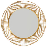 Capital Lighting 734006MM Signature 34 X 34 inch Matte Gold Wall Mirror