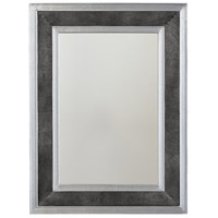 Capital Lighting 734007MM Signature 36 X 27 inch Galvanized Black and Aluminum Wall Mirror