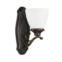 Capital Lighting Wyatt 1 Light Sconce in Surrey 8011SY-123