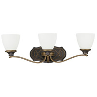 Wyatt 3 Light 26 inch Surrey Vanity Light Wall Light