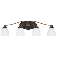 Wyatt 4 Light 32 inch Surrey Vanity Light Wall Light