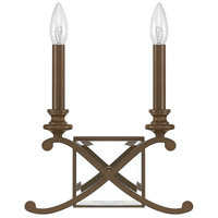 Capital Lighting Alexander 2 Light Sconce in Burnished Bronze 8062BB
