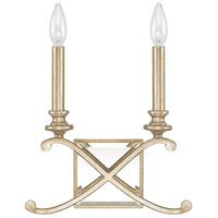 Capital Lighting Alexander 2 Light Sconce in Winter Gold 8062WG
