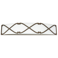 Alexander LED 27 inch Burnished Bronze Vanity Wall Light