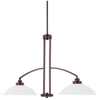 HomePlace 2 Light 37 inch Bronze Island Light Ceiling Light