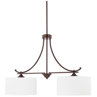 HomePlace 2 Light 36 inch Bronze Island Light Ceiling Light