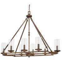 Capital Lighting 817681RT-376 Avanti 8 Light 46 inch Rustic Chandelier Ceiling Light
