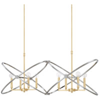 Capital Lighting 820881FI Fire And Ice 8 Light 43 inch Fire and Ice Island Ceiling Light