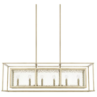 Capital Lighting 828361WG Signature 6 Light 46 inch Winter Gold Island Ceiling Light