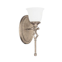 Capital Lighting Montclaire 1 Light Sconce in Mystic 8291MY-124