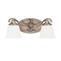 Capital Lighting Montclaire 2 Light Sconce in Mystic 8292MY-124