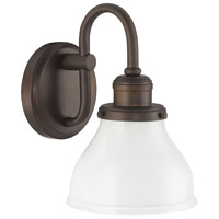 Capital Lighting Baxter 1 Light Sconce in Burnished Bronze 8301BB-128