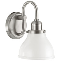 Capital Lighting Baxter 1 Light Sconce in Brushed Nickel 8301BN-128