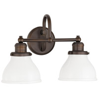 Baxter 2 Light 16 inch Burnished Bronze Vanity Light Wall Light
