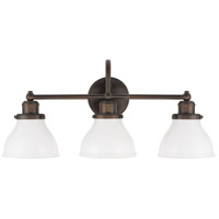 Baxter 3 Light 24 inch Burnished Bronze Vanity Light Wall Light