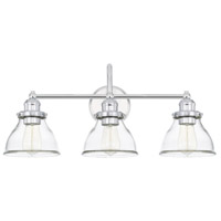 Capital Lighting 8303CH-461 Baxter 3 Light 24 inch Chrome Bath Vanity Wall Light