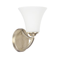 Capital Lighting Sydney 1 Light Sconce in Winter Gold 8331WG-145