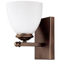 Capital Lighting Chapman 1 Light Sconce in Burnished Bronze 8401BB-202