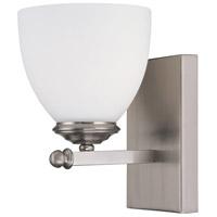 Capital Lighting 8401MN-202 Chapman 1 Light 5 inch Matte Nickel Sconce Wall Light in Soft White
