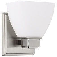 Capital Lighting Signature 1 Light Sconce in Brushed Nickel 8511BN-216