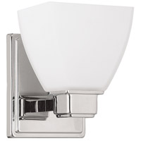 Capital Lighting Signature 1 Light Sconce in Polished Nickel 8511PN-216