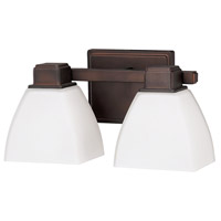 Capital Lighting Signature 2 Light Vanity in Burnished Bronze 8512BB-216