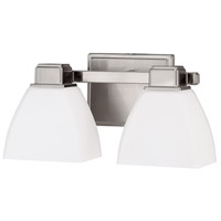 Signature 2 Light 13 inch Brushed Nickel Vanity Wall Light
