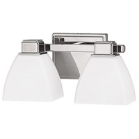 Signature 2 Light 13 inch Polished Nickel Vanity Wall Light