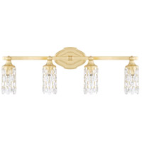 Blakely 4 Light 30 inch Capital Gold Vanity Wall Light